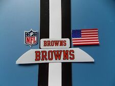 Cleveland Browns football helmet decals set
