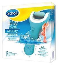 Scholl Velvet Smooth Pedi Wet and Dry elektrischer Hornhaut-Entferner NEU OVP