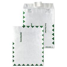 Survivor Tyvek USPS First Class Mailer Side Seam 9 x 12 White 100/Box R1470