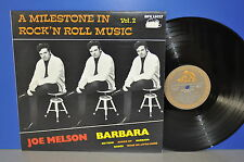 Joe Melson Barbara A Milestone in Rock'n'Roll Music Vol.2 M- ! Bear Family LP