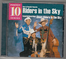 GHOST RIDERS IN THE SKY - rounder perfect 10 series CD