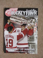 2002 DETROIT RED WINGS STANLEY CUP CHAMPIONS COMMEMORATIVE BOOK