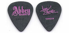 AVRIL LAVIGNE-GOODBYE LULLABY SESSION GUITAR PICK-BLACK