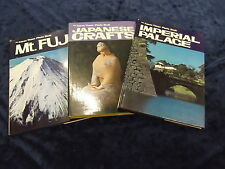 3 THE JAPAN TIMES PHOTO BOOKS ** UK POST £3.25 ** HARDBACKS with DUST JACKETS