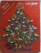 Vtg SEALED Springbok Holograph Christmas Tree Shaped Glitter Puzzle 500 Pieces