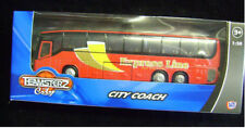 NEW TEAMSTERS CITY COACH TOY MODEL VEHICLE. EXPRESS LINE BUS TOUR RED