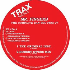 "MR. FINGERS "" THE COMPLETE CAN YOU FEEL IT "" NEW U.S.12 TRAX RECORDS"