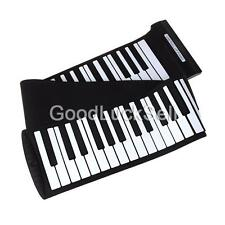 Portable USB 88 Keys Flexible Roll Up Electronic Piano Keyboard MIDI Music