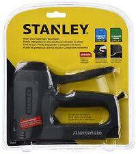 Squeeze Power Staple Gun Stanley Heavy Duty Stapler Brad Nail Sharp Shooter Kit