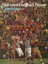 1971 College Football Program - Harvard Vs Columbia - Great Condition