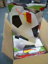 Job Lot 18 Asda Football Childrens Party Gift Bags with Tags - Brand New Boxes!