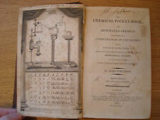 1801 THE CHEMICAL POCKET BOOK or MEMORANDA CHEMICA by PARKINSON CHEMISTRY