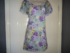 *LADIES STUNNING   TUNIC/  / LONG   TOP SIZE L (14/16/18) FROM WALLIS