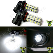 2x 6000K HID Xenon White 68-SMD LED Bulbs Driving Fog Lights Lamps DRL #F95