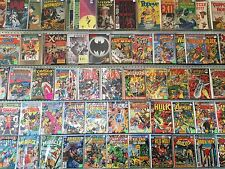 COMIC BOOK LOT OF 50 MARVEL DC INDY SUPERMAN BATMAN X-MEN DEADPOOL NO DUPLICATES