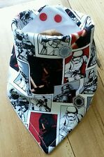 Baby Boys Bandana Dribble Bib. Star Wars THE FORCE AWAKENS The Dark Side.