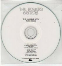 (BS488) The Rogers Sisters, The Invisible Deck - DJ CD