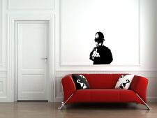 WALL - Banksy - Rude Cop - Wall Vinyl Decal