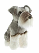 "*NEW* SITTING SCHNAUZER ""WATSON"" PUPPY DOG SOFT PET TOY 40cm/16"""