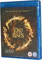 Lord Of The Rings Motion Picture Trilogy Film Edition 3 Blu-Ray DVD New Sealed