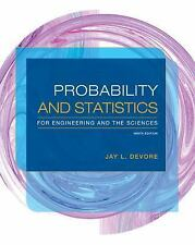 PROBABILITY AND STATISTICS FOR ENGINEERING AND THE SCIENCES  Ninth 9th Edition