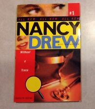 Without a Trace Nancy Drew: All New Girl Detective #1 Keene Paperback Book