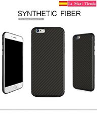 Funda para Iphone 6 / 6S Nillkin Synthetic Fiber - Carcasa de Fibra de Carbono