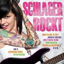SCHLAGER ROCKT (2015)  2 CD's  (HOWARD CARPENDALE, LINDT BENNETT, RELAX uva)