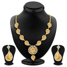 Sukkhi Graceful Gold Plated Necklace Set(2231NGDLPV1480)