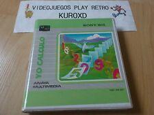 MSX YO CALCULO EDICION ESPAÑOLA