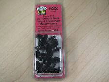 """Kadee HO Scale Metal Wheelsets - #522 36"""" smooth-back RP-25 wheels (12 sets)"""