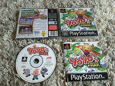 Yoyo's Puzzle Park PS1 Playstation PSone Boxed Complete UK PAL Rare