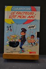 GASTON LAGAFFE DE FRANQUIN EN EO - LE FACTEUR EST MON AMI - AVEC TIMBRE CACHET