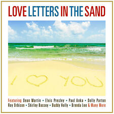 LOVE LETTERS IN THE SAND - NEW SEALED 2 CD * EASY,POP + ROCK N ROLL HITS OF 50's
