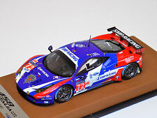1/43 Looksmart Ferrari 458 GT2 TEAM SMP #72 leather base