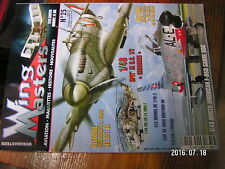 µ!? Revue Wing Masters n°25 Fevrier 1944 8th US Air Force Santos Dumont 14 bis