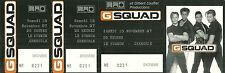 RARE / TICKET CONCERT LIVE - G SQUAD A GRENOBLE ( FRANCE ) - 15 NOVEMBRE 1997