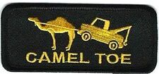 Camel Toe Cameltoe Embroidered Biker MC Club Funny NEW Fun Vest PATCH PAT-3693