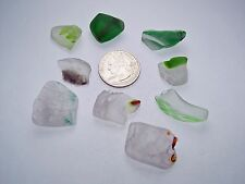 Assorted Surf Tumbled Sea Glass Lot 3212