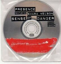 (DD370) Presence ft Shara Nelson, Sense of Danger - 1998 DJ CD