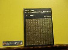 ART 4.903 COLLANA I GIGANTI DELLA LETTERATURA MONDIALE JOHN MILTON 1968