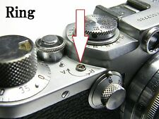 Leica 3f 3c small base ring under A-R lever 5 pieces set  Repair parts