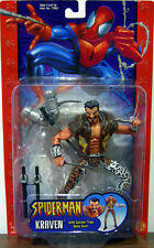 "SPIDER-MAN Classics Collection_KRAVEN 6"" action figure with Spider-Trap Bolo Gun"