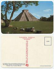 27974-maya-pirámide-Chichen Itza-méxico-yucatan-vieja postal