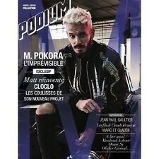 MATT POKORA / CLAUDE FRANCOIS Collector's Issue PODIUM Magazine 2016 ©TBC