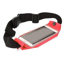 Sport Running Ceinture Pack de taille avec écran tactile fenêtre LG Nexus 4 (rouge)
