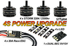 STORM 4s Racing Power KIT - Extreme FPVQuadcopter Racing Naze32 F3 G18 CC3D F4