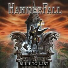 Hammerfall - Built to Last CD 2016 jewel case power metal Sweden Napalm Records