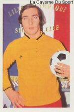 N°052 JEAN-NOEL DUSE # LILLE.OSC LOSC STICKER AGEDUCATIF FOOTBALL MATCH 1973
