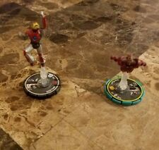 (2) Heroclix Marvel Avengers IRON MAN #002 Ultimate & Invincible IronMan MINT